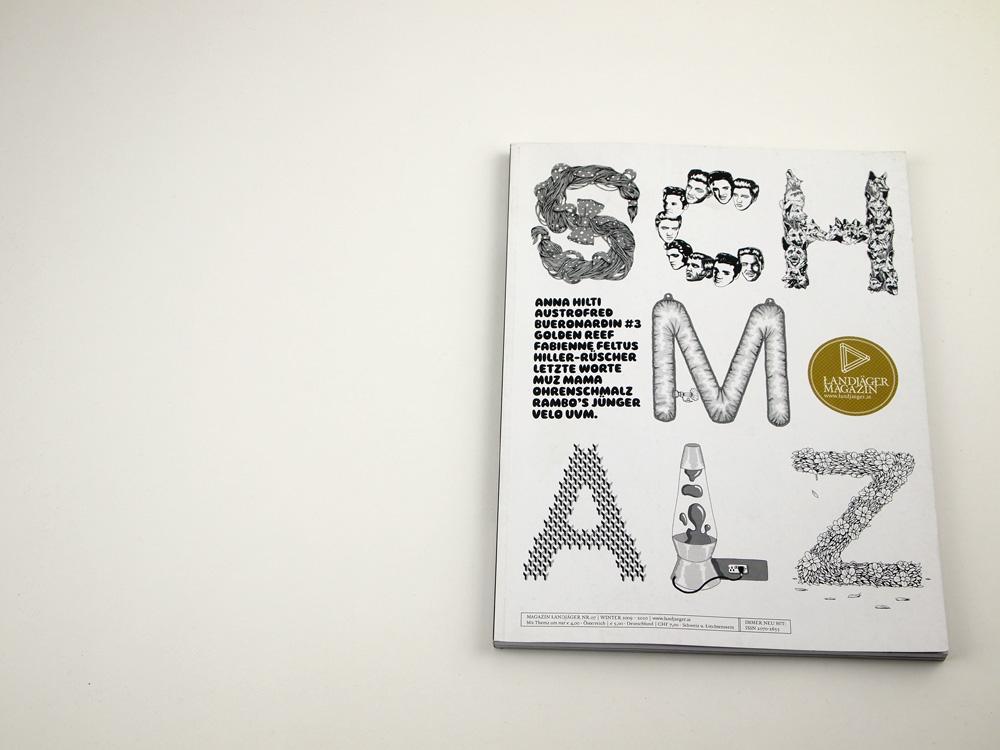 Landjäger Schmalz - Cover: Samuel Bell