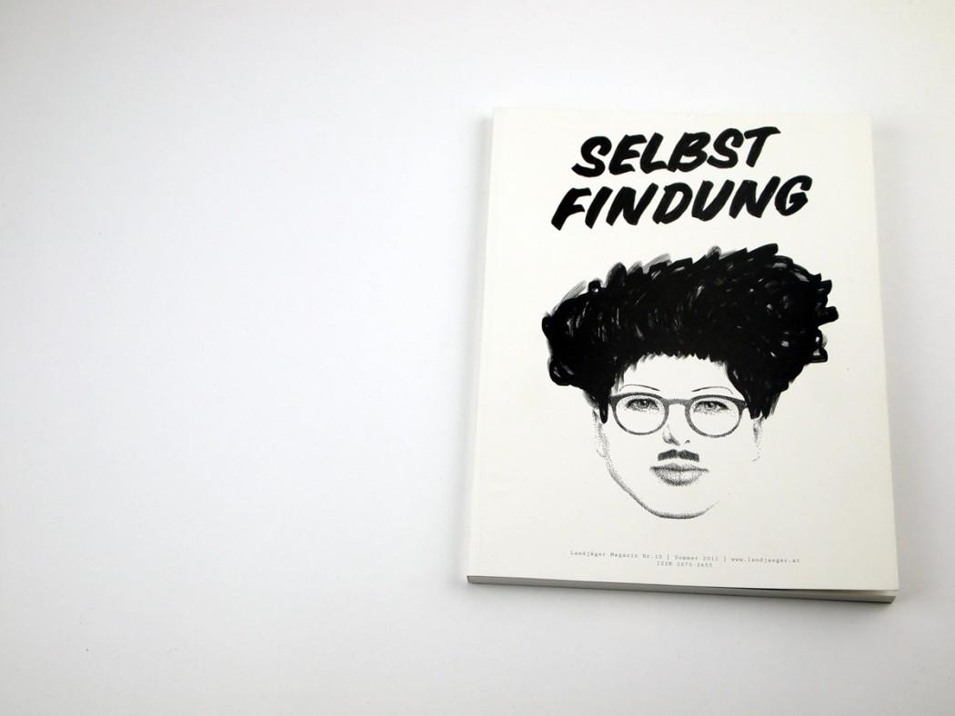 Landjäger Magazin Selbstfindung. Cover Fabienne Feltus