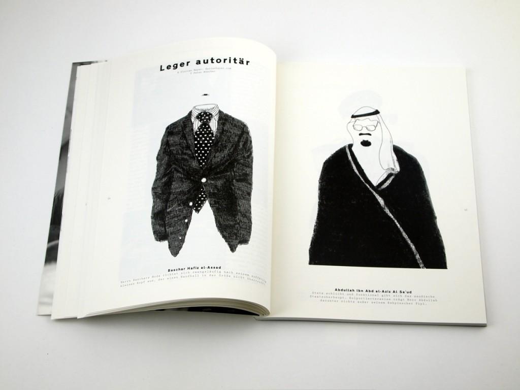 Landjäger Magazin Selbstfindung Illustrationen Florian Bayer
