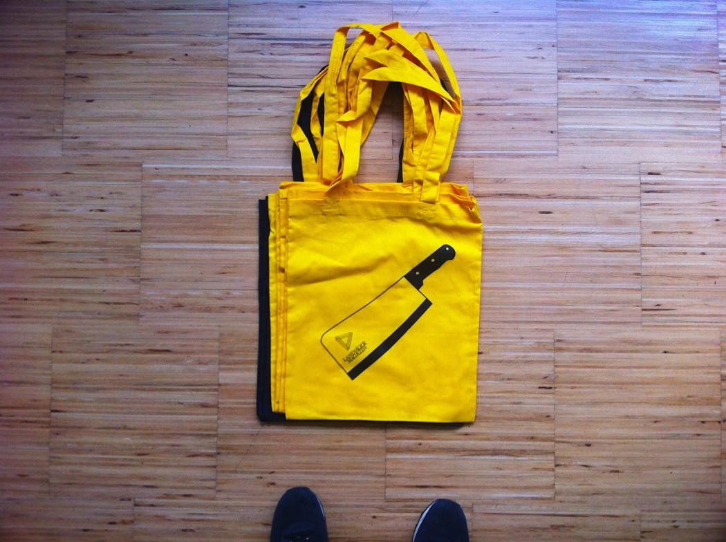 Landjäger Tasche Gelb