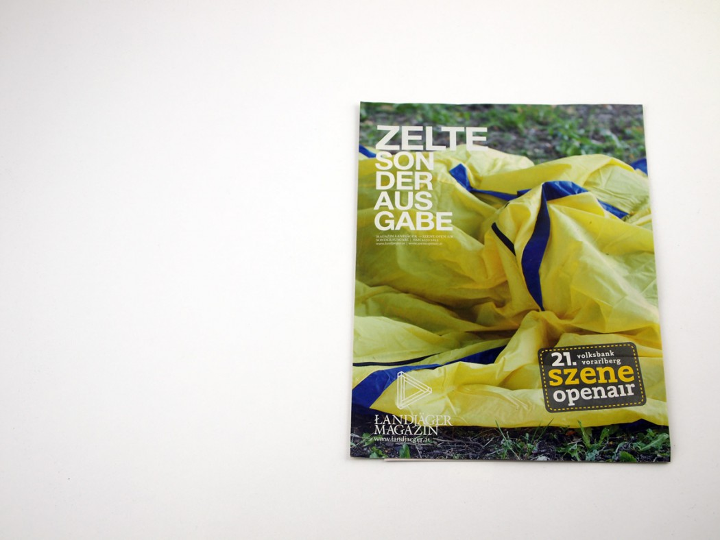 Sonderausgabe Zelte - szene openair Lustenau
